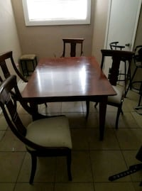 Chairs and the table for 180 Deer Park, 77536
