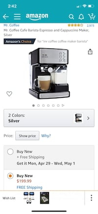Barista coffee maker Jacksonville