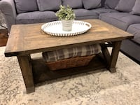 Rustic X Frame Coffee Table Baltimore, 21234