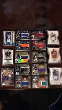 NFL game worn  jersey cards