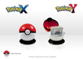 Pokemon pokeball game case holder