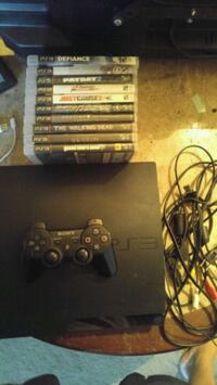 PlayStation3 with 10 Games Regina, S4T 3R2