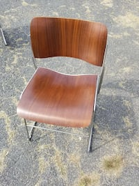 Rare Bent Wood stacking chairs, by David Rowland. Kearneysville, 25430