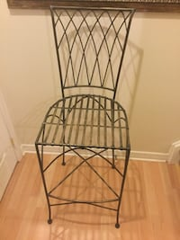 1 wrought iron plant stand or tall counter chair? Ottawa, K2G 6V6