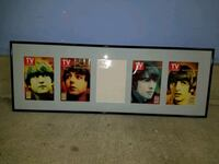 BEATLES COLLECTOR SERIES FRAMED TV GUIDE COVERS Bethesda, 20814