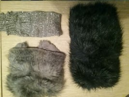 Fur boot toppers and leg warmers