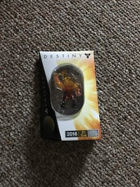 Mega Bloks destiny Fan Expo exclusive Sunbreaker titan figure Waterloo, N2K 3T6