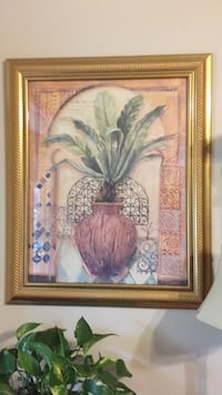Palm print framed Norman, 73071