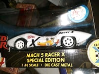 speed racer 35th Anniversary Mach 5 Racer X Special edition 1:18 scale