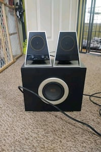 Altex Lansing Computer speakers with Sub
