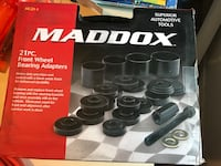 21PC Maddox front wheel bearing adapters box