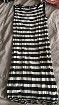 black and white stripe sleeveless dress Edmonton, T6L 7E1