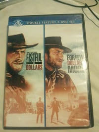 Fistful dollars  double feature discs