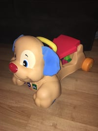 Fisher price doggy ride on toy mint condition