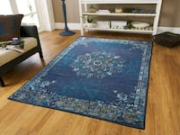 brand new Traditional blue 5x8 area rug Baltimore, 21229