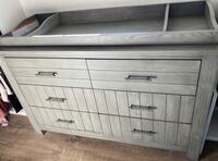 LIKE NEW baby dresser and changing top