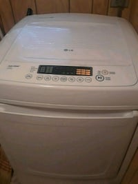 white top-load clothes dryer  Eagle Lake, 77434