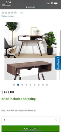 Office desk with drawer brand new