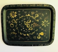 ANTIQUE HAND PAINTED TOLEWARE TRAYS (LOT OF 3) Bristol, 06010