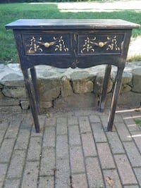 DECORATIVE CONSOLE / SIDE / SOFA TABLE  DISTRESSED