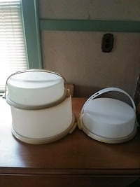 Tupperware Cake and2 Pie Carriers Evansville, 47711