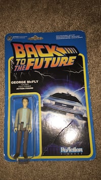 Back To The Futre George McFly action figure pack Urbandale, 50323