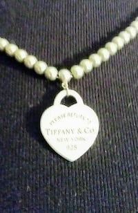 Return to Tiffany signature heart necklace
