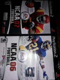 NCAA (06,07) Playstation 2 Games For $5 Windsor, N8T 3M3