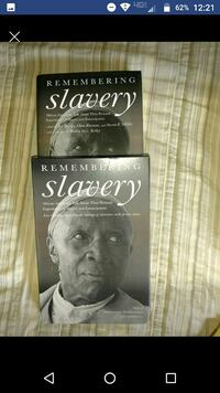 two Remembering Slavery books screenshot