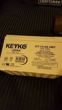 Keyko rechargeable SLA battery Santa Cruz, 95062