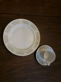 China Dinner Plates with cups and saucers. Mountville, 17554