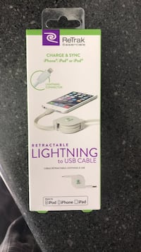 iPhone retractable charger