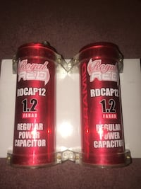 2 Royal Red 1.2 Farad Power Capacitor  Guelph, N1H 6Y9