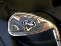 GOLF CLUBS: RH CALLAWAY IRONS Hampton