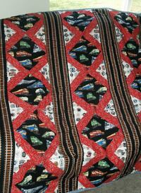 One of a Kind Railroad Lap Quilt Santee, 92071
