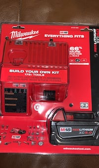 Brand new Milwaukee batteries and chargers  Richmond Hill, L4C 2X1