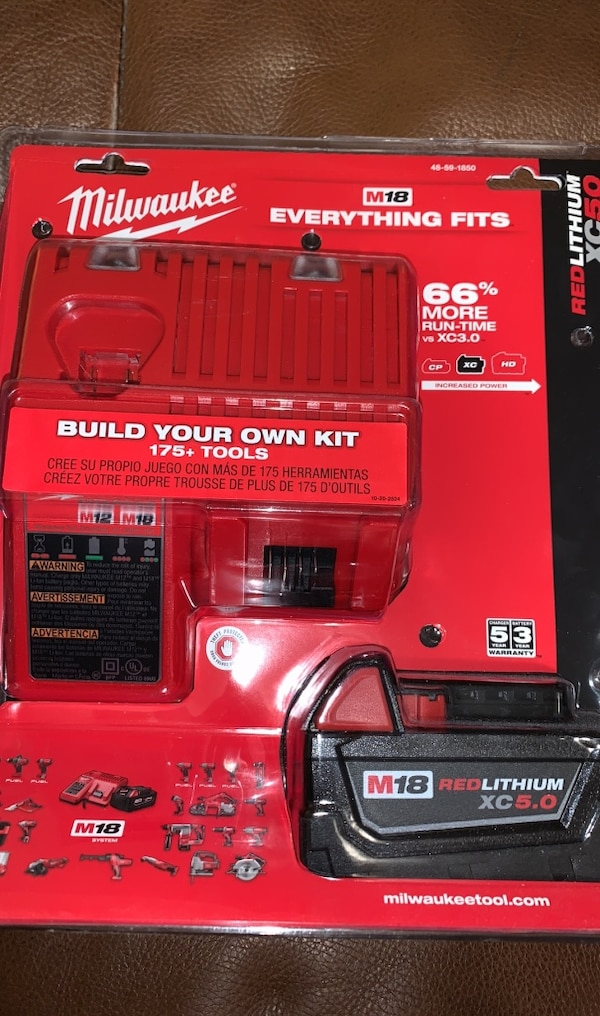 Brand new Milwaukee batteries and chargers  0fa50050-bfc9-4333-a891-8ef836ca6b66