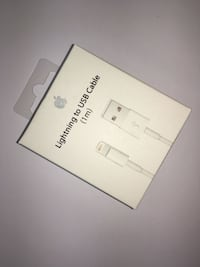 Apple Lightning à USB 1 m boîte de câble Saint-Denis, 93200