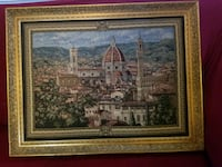 Framed tapestry from Florence, Italy Sandy Springs, 30342