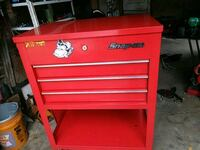 red Snap-On tool chest Corpus Christi