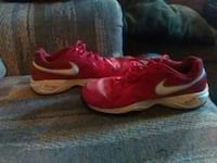 pair of red Nike running shoes Davis Junction, 61020
