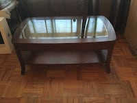Coffee table plus two side tables and two lamps. Toronto, M6E 3P9