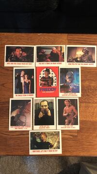 Horror collector cards by Now Playing 10 Long Beach, 11561