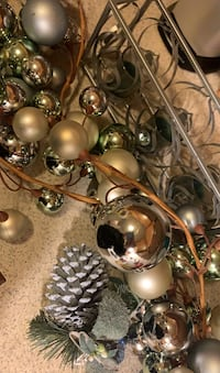 Light blue and silver Holiday decor Culpeper, 22701