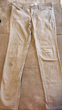 brown and white floral pants 895 mi