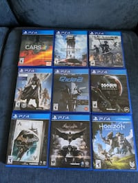 PS4 Assorted Games $10-$30