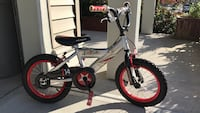 toddler's white and red bicycle Maple Ridge, V2W 0B7
