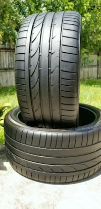 285/35/20 BRIDGESTONE POTENZA 2 TIRES  Clearwater, 33756