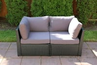 NEW IN BOX dark grey patio loveseats Port Coquitlam, V3B 3V7