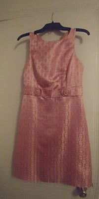 Florescent pink dress w/ full coverage design  Annandale, 22003